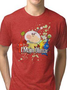 I Main Olimar - Super Smash Bros. Tri-blend T-Shirt