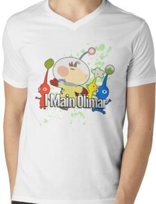 I Main Olimar - Super Smash Bros. Mens V-Neck T-Shirt