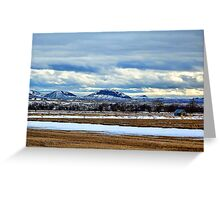 Spring on the East Side Greeting Card