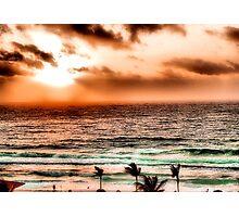 Cancun Sunrise 1 Photographic Print
