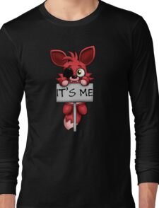 FNAF Plush Foxy Long Sleeve T-Shirt