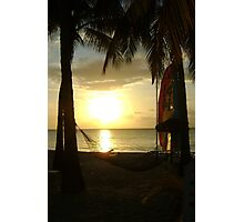 Jamaican Sunset, Negril Photographic Print