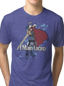 I Main Lucina - Super Smash Bros. Tri-blend T-Shirt