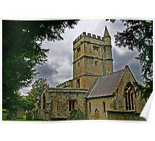 Old Church - Bratton England Poster