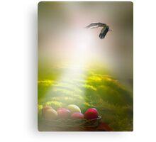 Easter Sun Rays Canvas Print