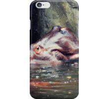Bathing Hippo iPhone Case/Skin