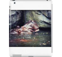 Bathing Hippo iPad Case/Skin