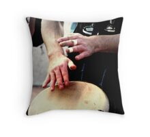Teach Me To Dance The Beat Of Your Heart Throw Pillow