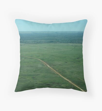 Outback Road Throw Pillow