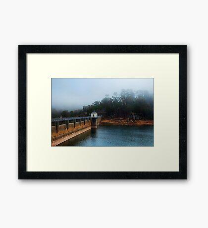 """""""Mundaring In Mist"""" Framed Print"""