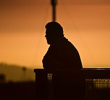 Sunset Contemplation by James Cole