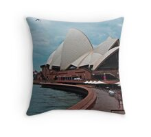 Sydney Sidewalk Throw Pillow