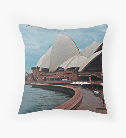Sydney Sidewalk Throw Pillow