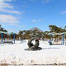 South Beach in the Snow by DmitriyM