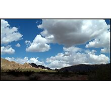 Shadows In The Valley - Mojave Photographic Print