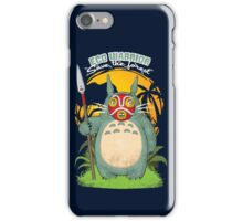 Eco warrior iPhone Case/Skin