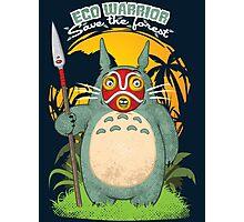 Eco warrior Photographic Print