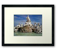 Fontana di Trevi Replica Framed Print