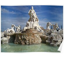 Fontana di Trevi Replica Poster