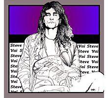 Steve Vai Sitting Photographic Print