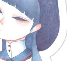 Mourning Girl Sticker