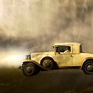 Driving through the fog of time by Steve  Woodman
