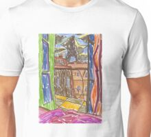 "Drawing: ""City LI (2013) (Paris)"" by artcollect Unisex T-Shirt"