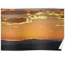 Before Sunrise - Bald Hill, Hill End NSW Australia Poster