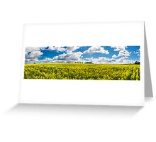 Northam Canola Clouds Greeting Card