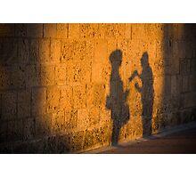 conversation Photographic Print