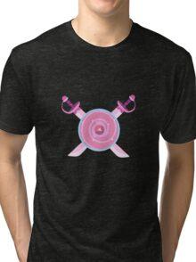 Rose's Shield Tri-blend T-Shirt