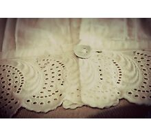 Lace - Embroidery - JUSTART © Photographic Print