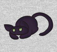 Black Cat Baby Tee
