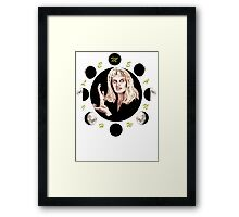MEANWHILE - LAURA PALMER Framed Print
