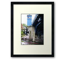 No Troll Under Here Framed Print
