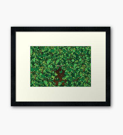 Forest Demon Framed Print