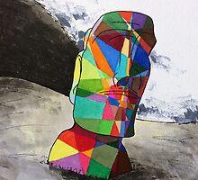 Rapa Nui Moai by Jack Rinderknecht
