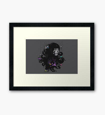 Ever Expanding Black Mass Framed Print