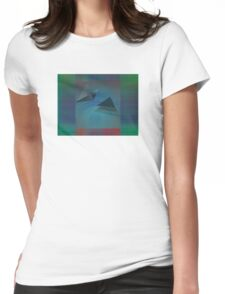 Gradient Layers 01 Womens Fitted T-Shirt