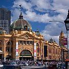 Flinders Street Station by eegibson