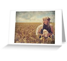 Hearts and Thoughts They Fade...Fade Away.... Greeting Card