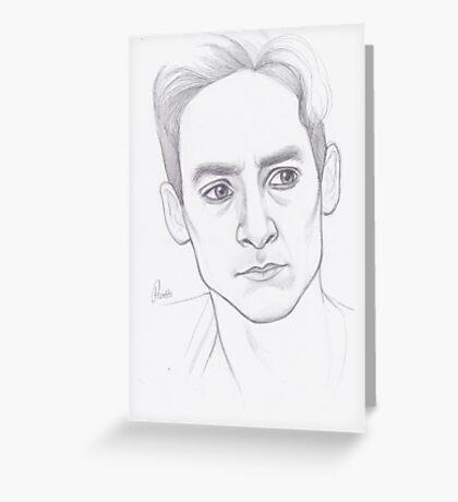 Abed Nadir Portrait Greeting Card