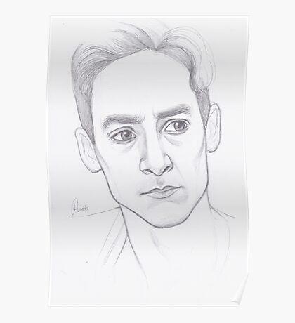 Abed Nadir Portrait Poster