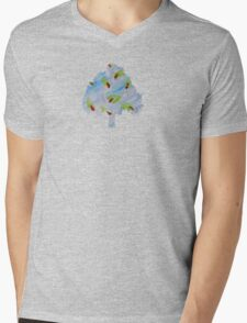 WaterColour - JUSTART © Mens V-Neck T-Shirt