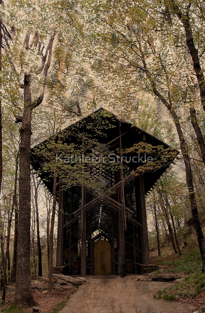 Crown Of Thorns Church by Kathleen Struckle