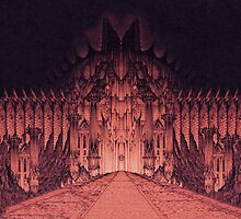 The Walls of Barad Dûr by Curtiss Shaffer