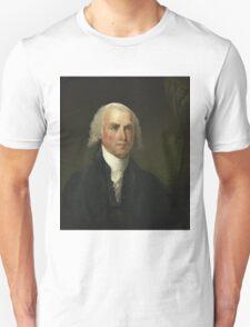 James Madison by Gilbert Stuart (1821) Unisex T-Shirt