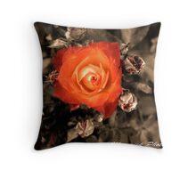 Maverick Rose Throw Pillow