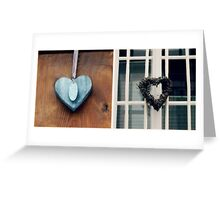 Collecting Hearts - JUSTART © Greeting Card
