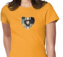 Collecting Hearts - JUSTART © Womens Fitted T-Shirt